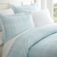 Polka DotTwin/Twin XL Duvet Cover Set in Aqua