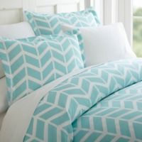 Arrow Twin/Twin XL Duvet Cover Set in Turquoise