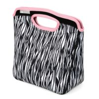 California Innovations Calista Neoprene Lunch Tote in Black/white