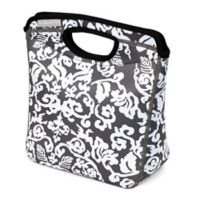 California Innovations Calista Neoprene Lunch Tote in Grey/White