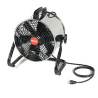 Shop-air® 11-Inch Stainless Steel Floor Fan with Stand