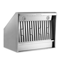 Thor Kitchen® 36-Inch Under Cabinet Canopy Range Hood in Stainless Steel