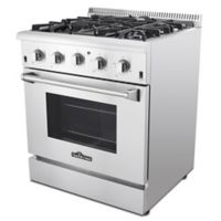 Thor® Kitchen 30-Inch Freestanding Gas Range with Convection in Stainless Steel