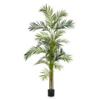 Nearly Natural 6-Foot Areca Palm Silk Tree with 5 Trunks