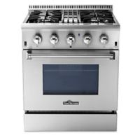 Thor® Kitchen 30-Inch Professional Style Dual Fuel Range in Stainless Steel