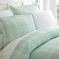 Patchwork Plaid King Sheet Set in Sage