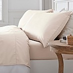 Savannah 300-Thread-Count Organic Cotton Queen Sheet Set in Ivory