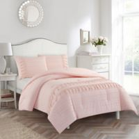 American Kids Ava Full Comforter Set in Pink
