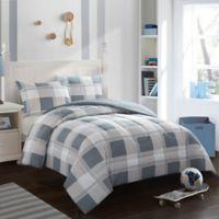 American Kids Hunter 3-Piece Full Comforter Set in Grey