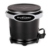 Presto® FryDaddy® Plus 4-Cup Deep Fryer in Black
