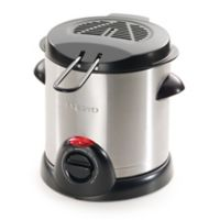 Presto® Stainless Steel 4-Cup Electric Deep fryer