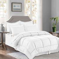 Bamboo 8-Piece King/California King Comforter Set in White