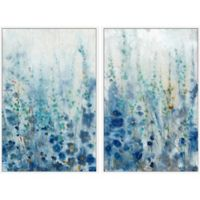 Marmont Hill Misty Blooms 32-Inch x 24-Inch Framed Diptych Wall Art (Set of 2)