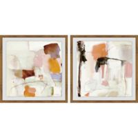 Marmont Hill Crazy Abstract 24-Inch x 12-Inch Diptych Wall Art (Set of 2)