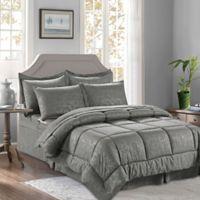 Bamboo 6-Piece Twin/Twin XL Comforter Set in Grey