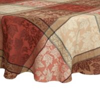 Montvale 70-Inch Round Tablecloth in Terracotta
