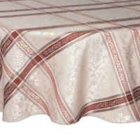 Winchester 70-Inch Round Tablecloth in Neutral