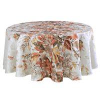 Autumn Bouquet 70-Inch Round Tablecloth