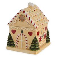 Spode® Christmas Tree Gingerbread House Candy Jar