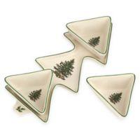 Spode® Christmas Tree 4-Piece Dip Set