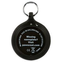 Pawscout® Smarter Pet Tags in Black