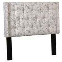 Pulaski Shelter Button Tufted Upholstered King Headboard in Lorena Dune