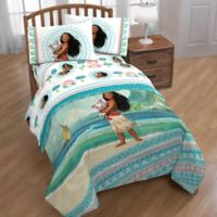 Disney® Moana The Wave 2-Piece Reversible Twin Comforter in Blue