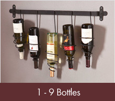 Wine Racks for 1-9 bottles