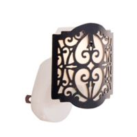 Scentsationals Scent Charms Linden Lighted Fragrance Oil Diffuser in Latte