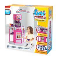 1st Cookin Kitchen 18-Piece Play Set in Pink