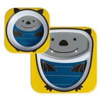 SKIP*HOP® Zoo Bowl and Plate Set in Bat