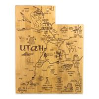 Totally Bamboo® Utah Destination Cutting/Serving Board