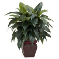 Nearly Natural 5-Feet Cordyline w/ Decorative Vase Silk Plant