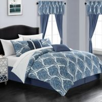 Chic Home Slade 20-Piece King Comforter Set in Blue