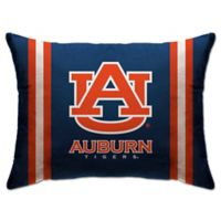 Auburn University Rectangular Microplush Standard Bed Pillow