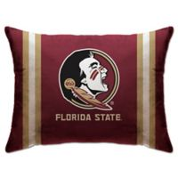 Florida State University Rectangular Microplush Standard Bed Pillow