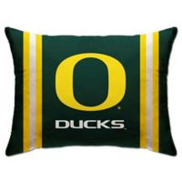 University of Oregon Rectangular Microplush Standard Bed Pillow