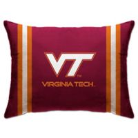 Virginia Tech Rectangular Microplush Standard Bed Pillow