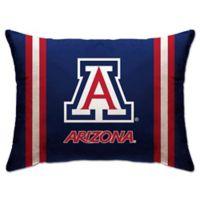 University of Arizona Rectangular Microplush Standard Bed Pillow