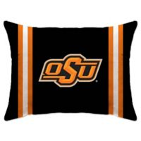 Oklahoma State University Rectangular Microplush Standard Bed Pillow
