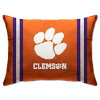 Clemson University Rectangular Microplush Standard Bed Pillow
