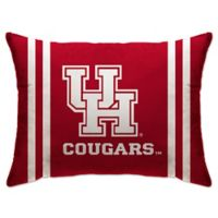 University of Houston Rectangular Microplush Standard Bed Pillow
