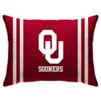 University of Oklahoma Rectangular Microplush Standard Bed Pillow