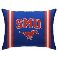Southern Methodist University Rectangular Microplush Standard Bed Pillow