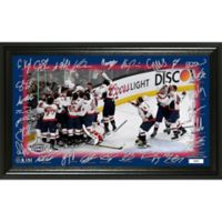 NHL Washington Capitals 2018 Stanley Cup Champions Celebration Signature Rink Photo Frame