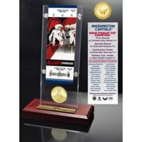 NHL Washington Capitals 2018 Stanley Cup Champions Acrylic Desk Top Ticket and Coin Holder