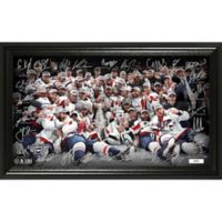 NHL Washington Capitals 2018 Stanley Cup Champions Signature Rink Photo Frame