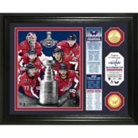 "NHL Washington Capitals 2018 Stanley Cup Champions ""Banner"" Bronze Coin Photo Mint"