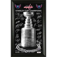 "NHL Washington Capitals 2018 Stanley Cup Champions ""Trophy"" Signature Photo"