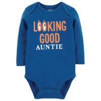 carter's® Size 3M Looking Good Auntie Bodysuit in Navy